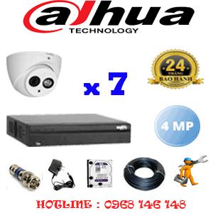 Lắp Đặt Trọn Bộ 7 Camera Dahua 4.0Mp (Dah-472500)-DAH-472500