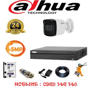 Lắp Đặt Trọn Bộ 1 Camera Dahua 5.0Mp (Dah-511600)-DAH-511600