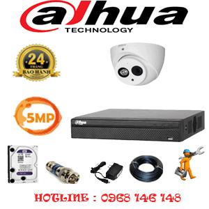 Lắp Đặt Trọn Bộ 1 Camera Dahua 5.0Mp (Dah-512900)-DAH-512900