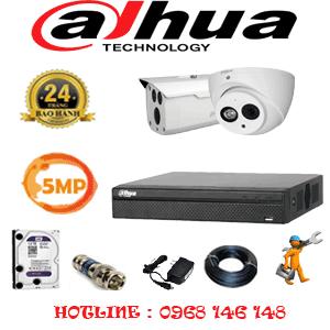 Lắp Đặt Trọn Bộ 2 Camera Dahua 5.0Mp (Dah-5129130)-DAH-5129130