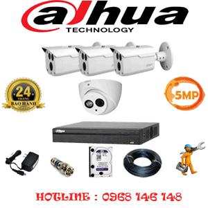 Lắp Đặt Trọn Bộ 4 Camera Dahua 5.0Mp (Dah-5129330)-DAH-5129330