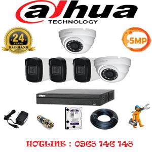 Lắp Đặt Trọn Bộ 5 Camera Dahua 5.0Mp (Dah-5215316)-DAH-5215316