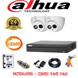 Lắp Đặt Trọn Bộ 2 Camera Dahua 5.0Mp (Dah-522900)-DAH-522900
