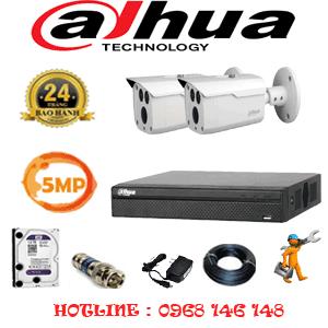 Lắp Đặt Trọn Bộ 2 Camera Dahua 5.0Mp (Dah-523000)-DAH-523000