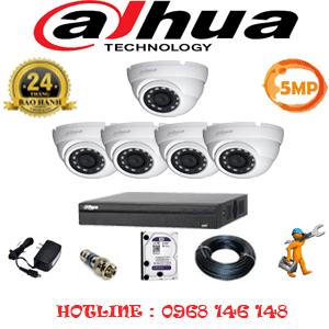 Lắp Đặt Trọn Bộ 5 Camera Dahua 5.0Mp (Dah-551500)-DAH-551500