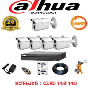 Lắp Đặt Trọn Bộ 5 Camera Dahua 5.0Mp (Dah-553000)-DAH-553000