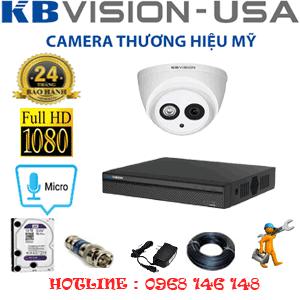Lắp Đặt Trọn Bộ 1 Camera Kbvision 2.0Mp (Kb-211700)-KB-211700