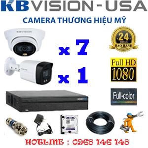Lắp Đặt Trọn Bộ 8 Camera Kbvision 2.0Mp (Kb-2721122)-KB-2721122