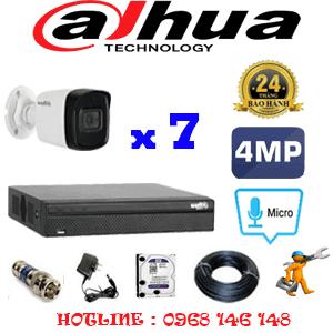 Lắp Đặt Trọn Bộ 7 Camera Dahua 4.0Mp (Dah-472800)-DAH-472800