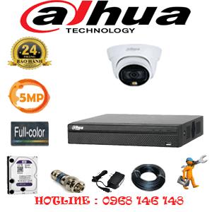 Lắp Đặt Trọn Bộ 1 Camera Dahua 5.0Mp (Dah-513100)-DAH-513100