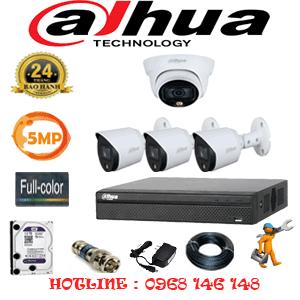 Lắp Đặt Trọn Bộ 4 Camera Dahua 5.0Mp (Dah-5131332)-DAH-5131332