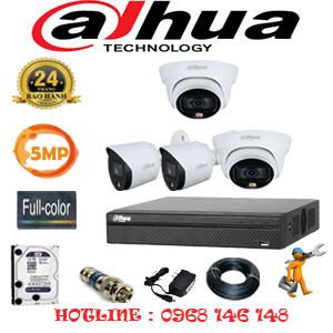 Lắp Đặt Trọn Bộ 4 Camera Dahua 5.0Mp (Dah-5231232)-DAH-5231232