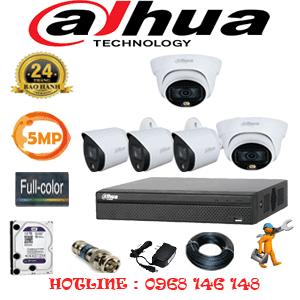 Lắp Đặt Trọn Bộ 5 Camera Dahua 5.0Mp (Dah-5231332)-DAH-5231332