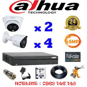 Lắp Đặt Trọn Bộ 6 Camera Dahua 5.0Mp (Dah-5231432)-DAH-5231432