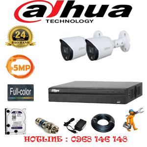 Lắp Đặt Trọn Bộ 2 Camera Dahua 5.0Mp (Dah-523200)-DAH-523200