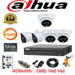 Lắp Đặt Trọn Bộ 5 Camera Dahua 5.0Mp (Dah-5331232)-DAH-5331232