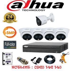 Lắp Đặt Trọn Bộ 5 Camera Dahua 5.0Mp (Dah-5431132)-DAH-5431132