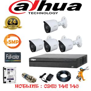 Lắp Đặt Trọn Bộ 4 Camera Dahua 5.0Mp (Dah-543200)-DAH-543200
