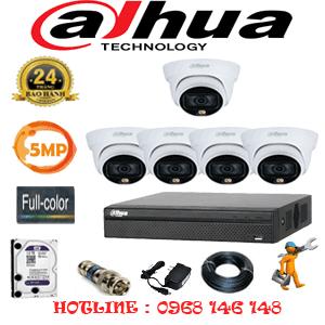 Lắp Đặt Trọn Bộ 5 Camera Dahua 5.0Mp (Dah-553100)-DAH-553100