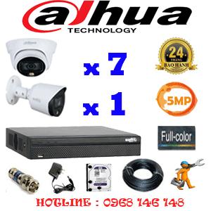 Lắp Đặt Trọn Bộ 8 Camera Dahua 5.0Mp (Dah-5731132)-DAH-5731132