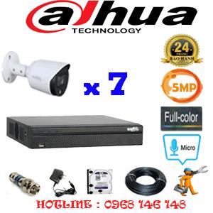 Lắp Đặt Trọn Bộ 7 Camera Dahua 5.0Mp (Dah-573400)-DAH-573400
