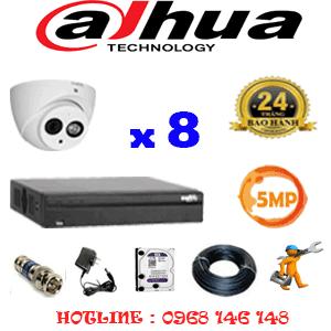 Lắp Đặt Trọn Bộ 8 Camera Dahua 5.0Mp (Dah-582900)-DAH-582900