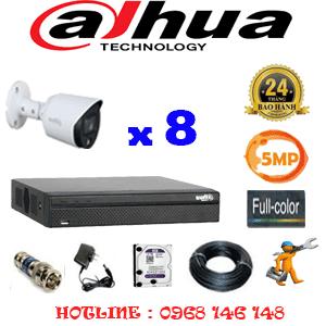 Lắp Đặt Trọn Bộ 8 Camera Dahua 5.0Mp (Dah-583200)-DAH-583200