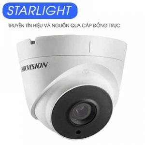 Camera Dome Hdtvi 2Mp Starlight Hikvision Ds-2Ce56D8T-It3E-DS-2CE56D8T-IT3E