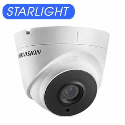 Camera Dome Hdtvi 2Mp Starlight Hikvision Ds-2Ce56D8T-It3F-DS-2CE56D8T-IT3F