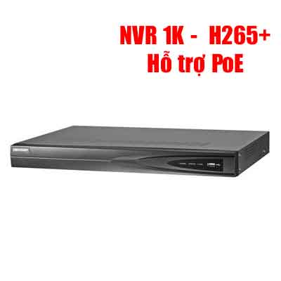 Đầu Ghi Ip H.265+ 8 Kênh Hikvision Ds-7608Ni-K1/8P(B)-DS-7608NI-K1-8P-B