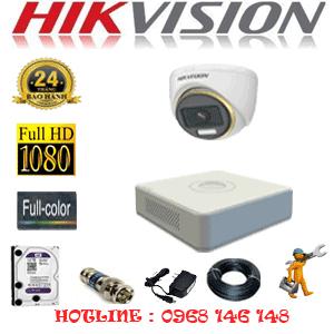 Lắp Đặt Trọn Bộ 1 Camera Hikvision 2.0Mp (Hik-213900)-HIK-213900