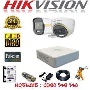 Lắp Đặt Trọn Bộ 2 Camera Hikvision 2.0Mp (Hik-2139140)-HIK-2139140
