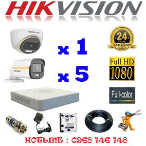 Lắp Đặt Trọn Bộ 6 Camera Hikvision 2.0Mp (Hik-2139540)-HIK-2139540
