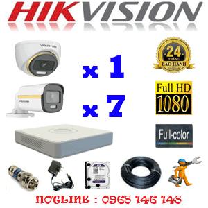 Lắp Đặt Trọn Bộ 8 Camera Hikvision 2.0Mp (Hik-2139740)-HIK-2139740