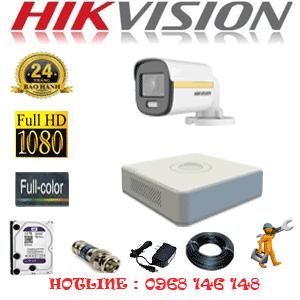 Lắp Đặt Trọn Bộ 1 Camera Hikvision 2.0Mp (Hik-214000)-HIK-214000