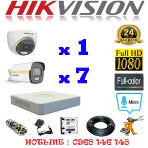 Lắp Đặt Trọn Bộ 8 Camera Hikvision 2.0Mp (Hik-2141742)-HIK-2141742