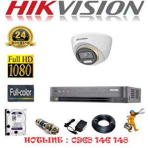 Lắp Đặt Trọn Bộ 1 Camera Hikvision 2.0Mp (Hik-214300)-HIK-214300