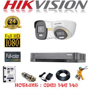 Lắp Đặt Trọn Bộ 2 Camera Hikvision 2.0Mp (Hik-2143144)-HIK-2143144
