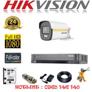 Lắp Đặt Trọn Bộ 1 Camera Hikvision 2.0Mp (Hik-214400)-HIK-214400