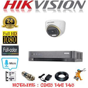 Lắp Đặt Trọn Bộ 1 Camera Hikvision 2.0Mp (Hik-214500)-HIK-214500
