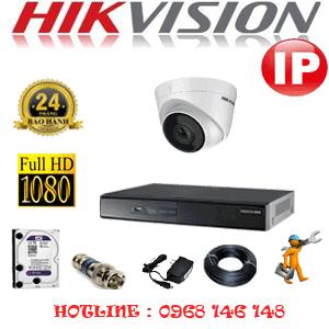 Lắp Đặt Trọn Bộ 1 Camera Ip Hikvision 2.0Mp (Hik-214700)-HIK-214700