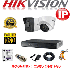 Lắp Đặt Trọn Bộ 2 Camera Ip Hikvision 2.0Mp (Hik-2147148)-HIK-2147148
