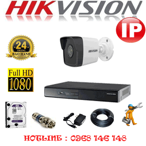 Lắp Đặt Trọn Bộ 1 Camera Ip Hikvision 2.0Mp (Hik-214800)-HIK-214800