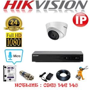Lắp Đặt Trọn Bộ 1 Camera Ip Hikvision 2.0Mp (Hik-214900)-HIK-214900