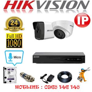 Lắp Đặt Trọn Bộ 2 Camera Ip Hikvision 2.0Mp (Hik-2149150)-HIK-2149150