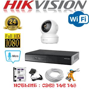 Lắp Đặt Trọn Bộ 1 Camera Wifi Hikvision 2.0Mp (Hik-215100)-HIK-215100