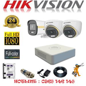 Lắp Đặt Trọn Bộ 3 Camera Hikvision 2.0Mp (Hik-2239140)-HIK-2239140