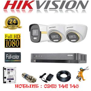 Lắp Đặt Trọn Bộ 3 Camera Hikvision 2.0Mp (Hik-2243144)-HIK-2243144
