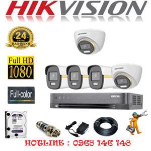 Lắp Đặt Trọn Bộ 5 Camera Hikvision 2.0Mp (Hik-2243344)-HIK-2243344