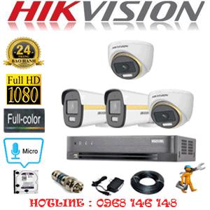 Lắp Đặt Trọn Bộ 4 Camera Hikvision 2.0Mp (Hik-2245246)-HIK-2245246